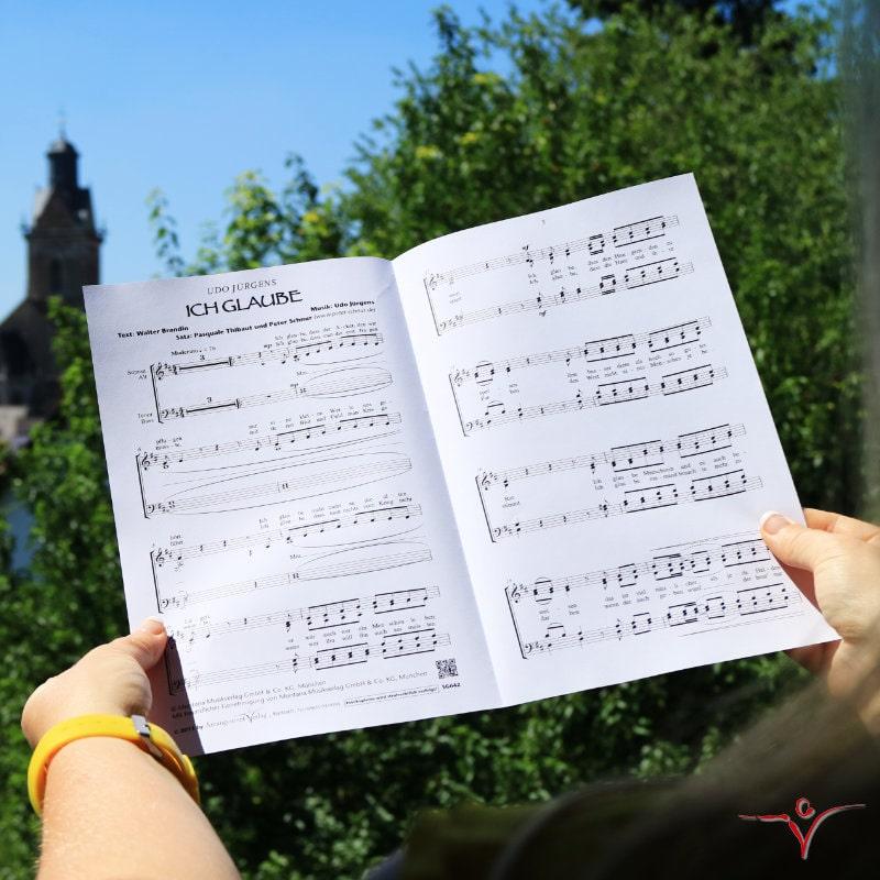 Chornoten: Ich glaube (vierstimmig)