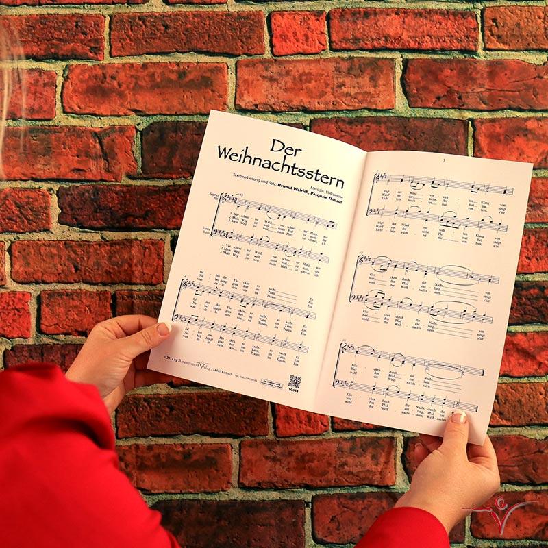 Chornoten: Der Weihnachtsstern (vierstimmig)