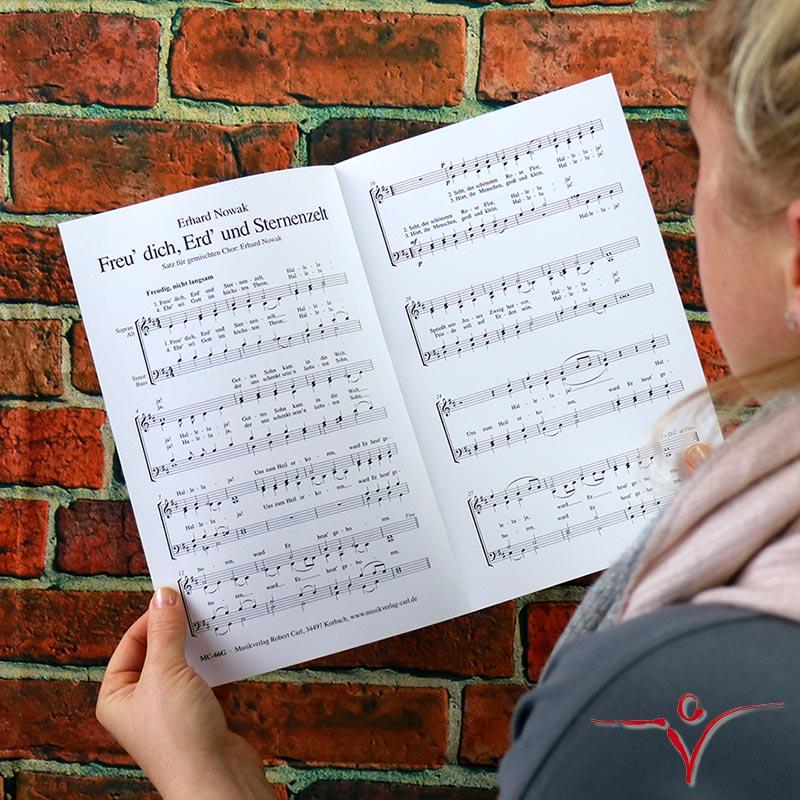 Chornoten: Freu dich, Erd und Sternenzelt