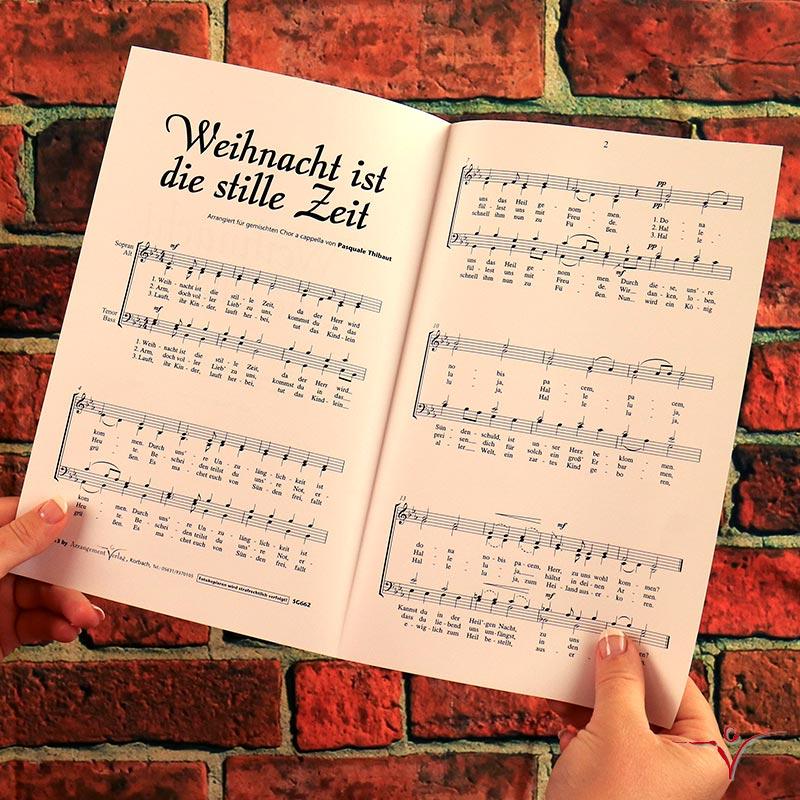 Chornoten: Weihnacht ist die stille Zeit (vierstimmig)
