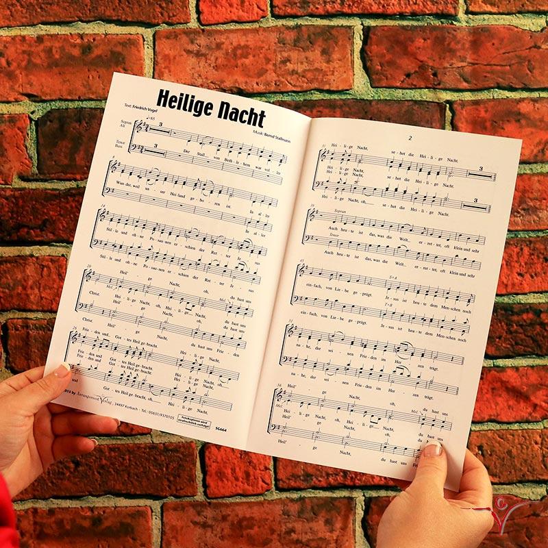 Chornoten: Heilige Nacht (vierstimmig)