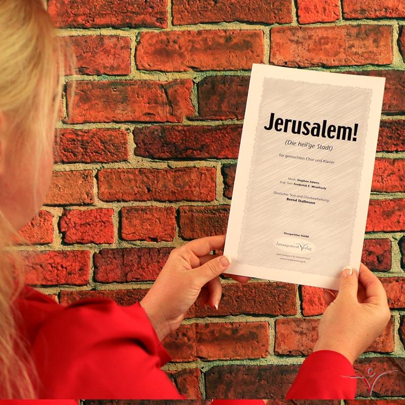 Chornoten: Jerusalem! (vierstimmig)