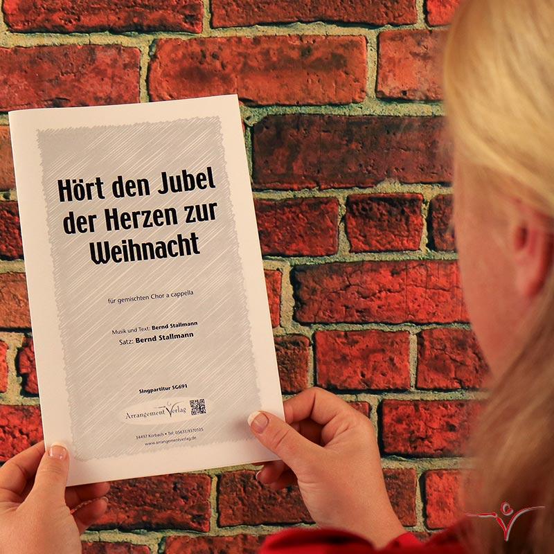 Chornoten: Hört den Jubel (vierstimmig)