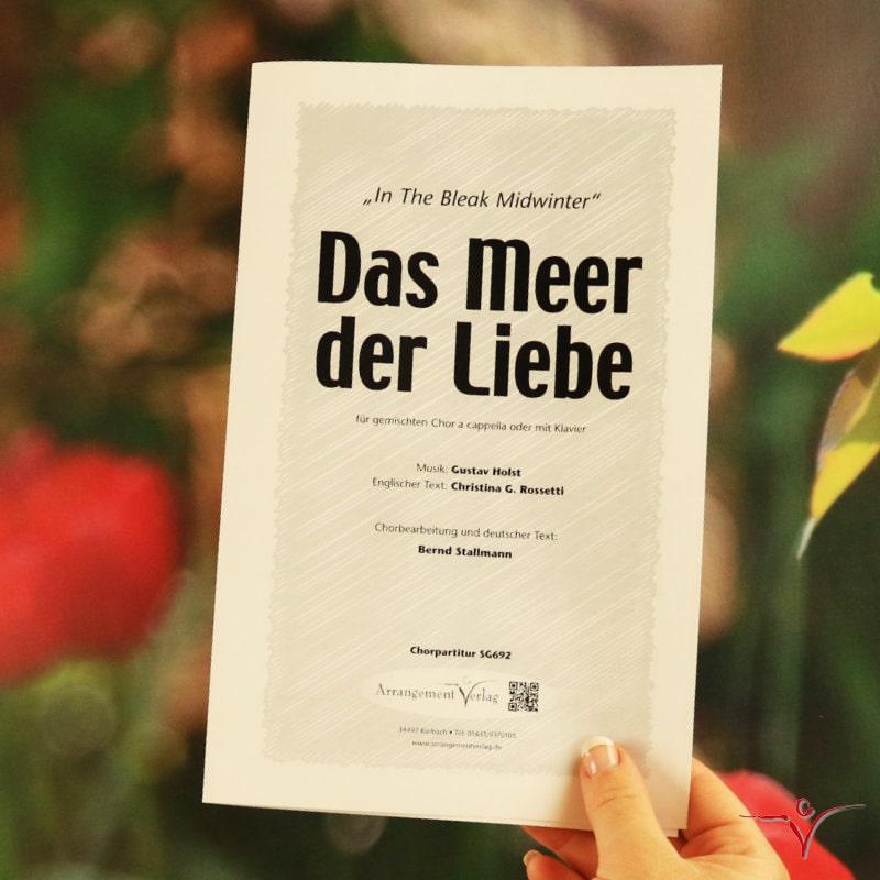 Chornoten: Das Meer der Liebe (vierstimmig)
