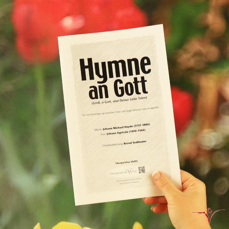 Chornoten: Hymne an Gott (vierstimmig)