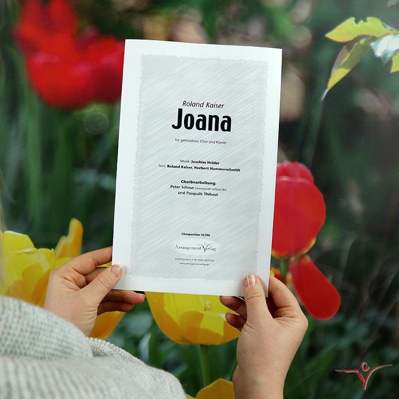 Chornoten: Joana (vierstimmig)