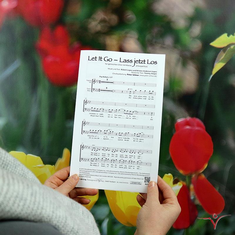 Chornoten: Let It Go – Lass jetzt los (vierstimmig)