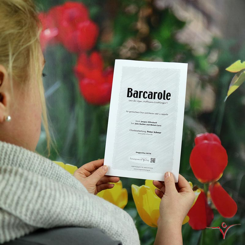 Chornoten: Barcarole (vierstimmig)