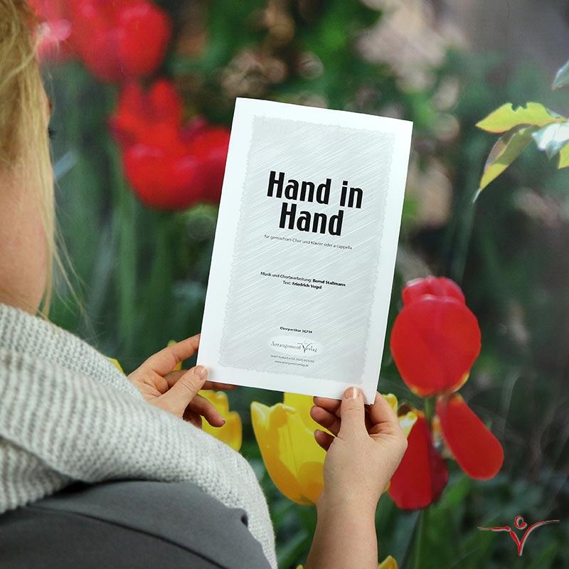 Chornoten: Hand in Hand (vierstimmig)