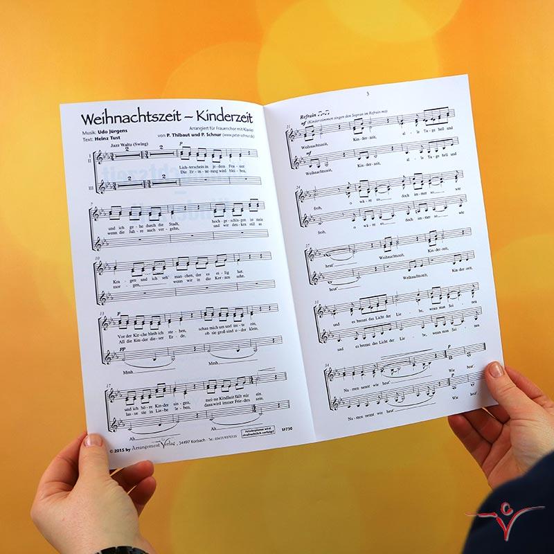 Chornoten: Weihnachtszeit – Kinderzeit (vierstimmig)