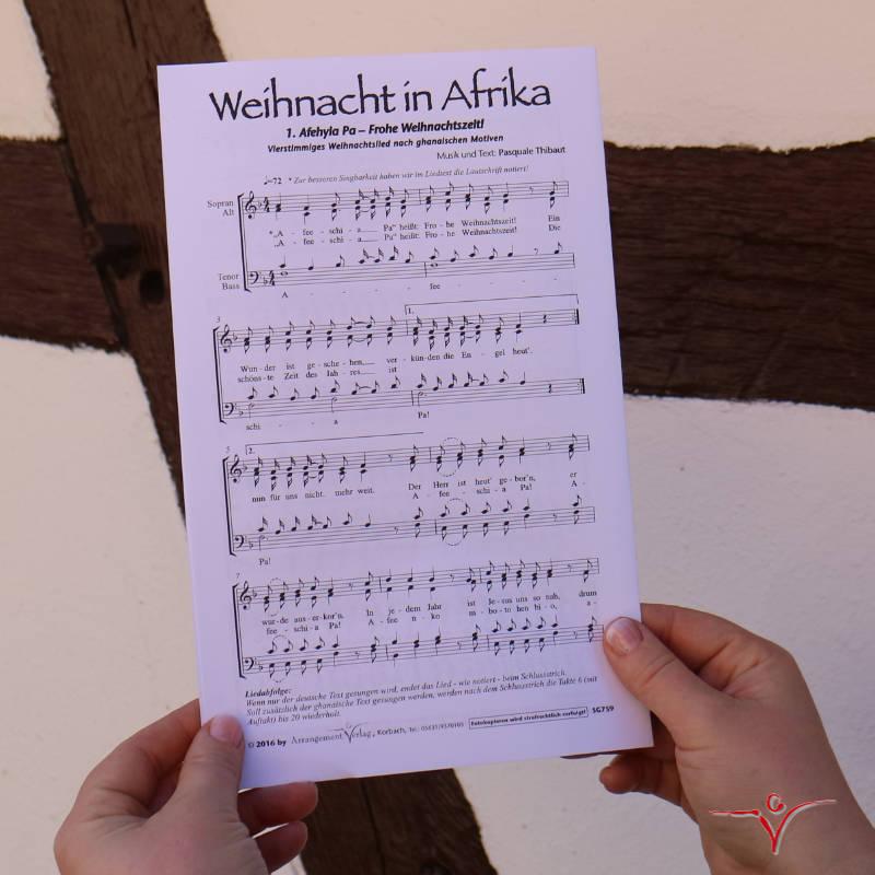 Chornoten: Weihnacht in Afrika (vierstimmig)