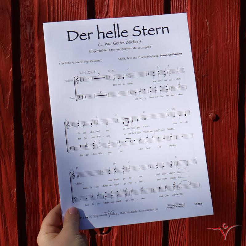 Chornoten: Der helle Stern (vierstimmig)