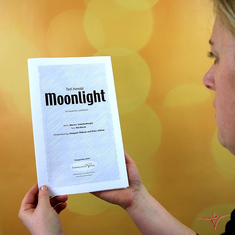 Chornoten: Moonlight (vierstimmig)
