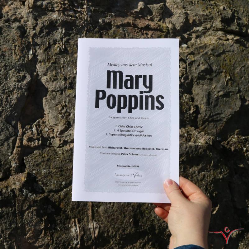 Chornoten: Mary Poppins (Medley, englisch) (vierstimmig)