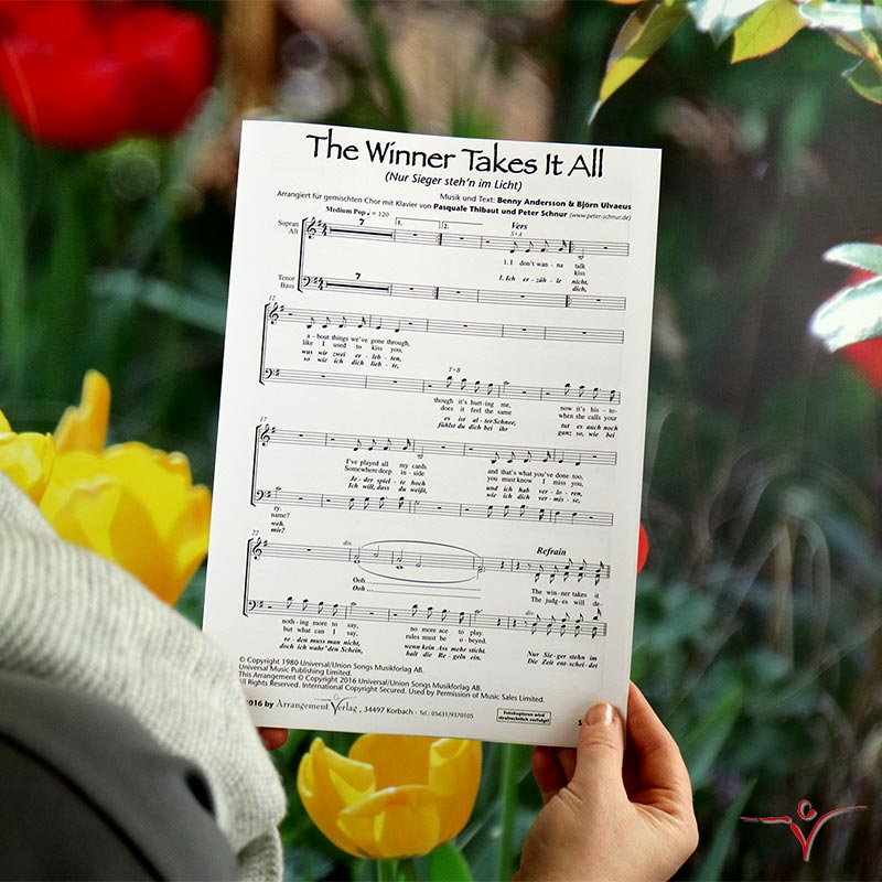 Chornoten: The Winner Takes It All (vierstimmig)