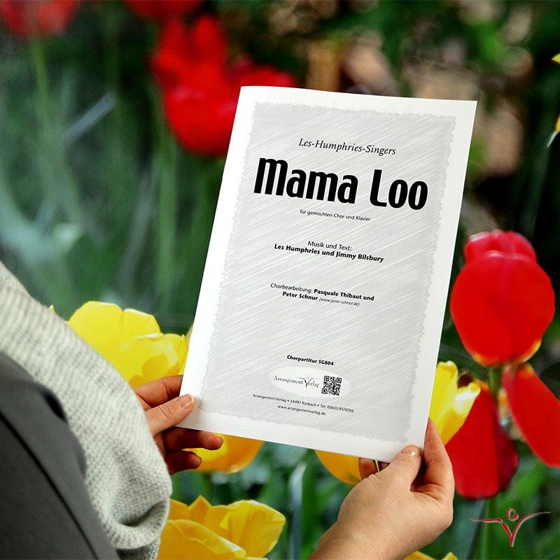 Chornoten: Mama Loo (vierstimmig)