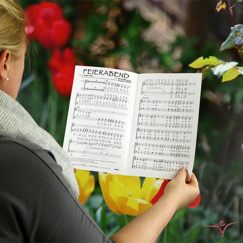 Chornoten: Feierabend (vierstimmig)