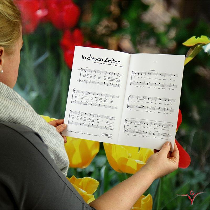 Chornoten: In diesen Zeiten (vierstimmig)