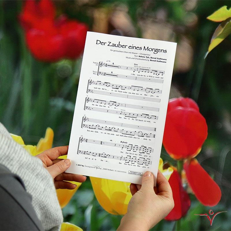 Chornoten: Der Zauber eines Morgens (vierstimmig)