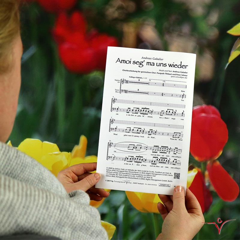 Chornoten: Amoi seg ma uns wieder (vierstimmig)