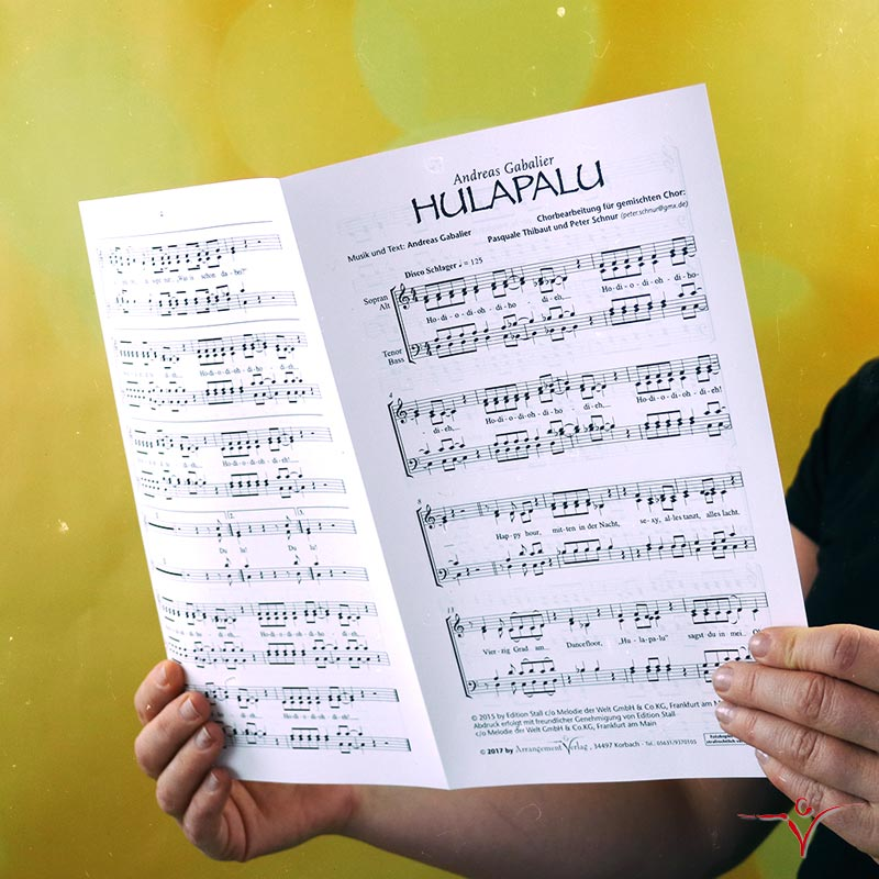 Chornoten: HULAPALU (vierstimmig)