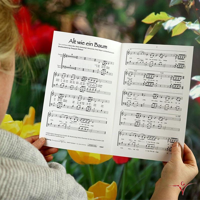 Chornoten: Alt wie ein Baum (vierstimmig)