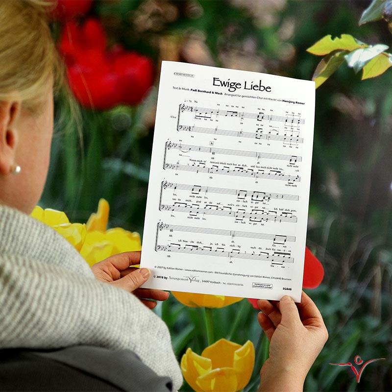 Chornoten: Ewige Liebe (vierstimmig)