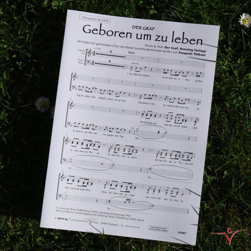 Chornoten: Geboren um zu leben! (vierstimmig)
