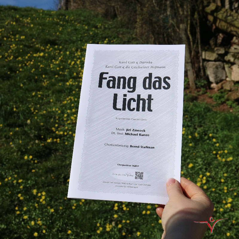 Chornoten: Fang das Licht (vierstimmig)