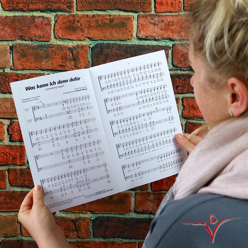 Chornoten: Was kann ich denn dafür (vierstimmig)
