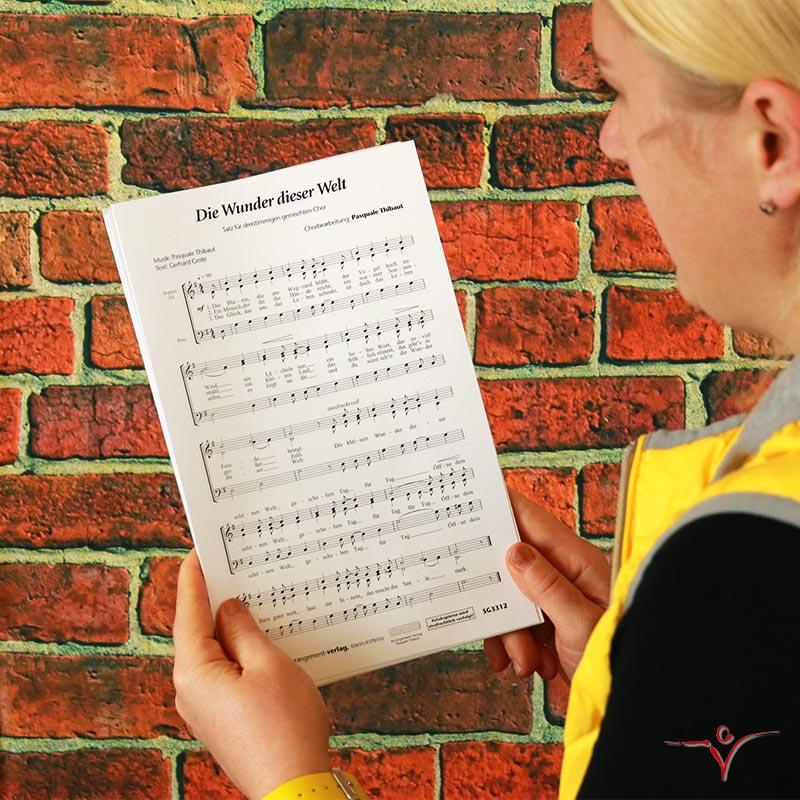 Chornoten: Die Wunder dieser Welt (dreistimmig)