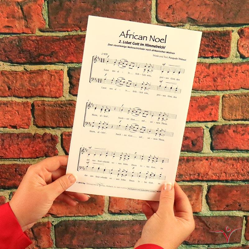 Chornoten: African Noel (dreistimmige Neubearbeitung)