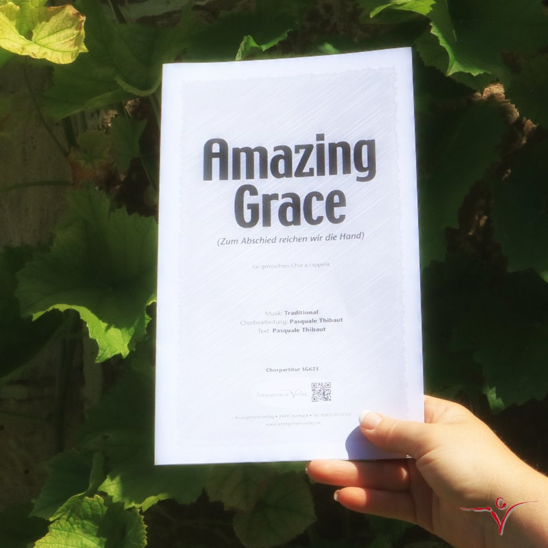 Chornoten: Amazing Grace (dreistimmig)
