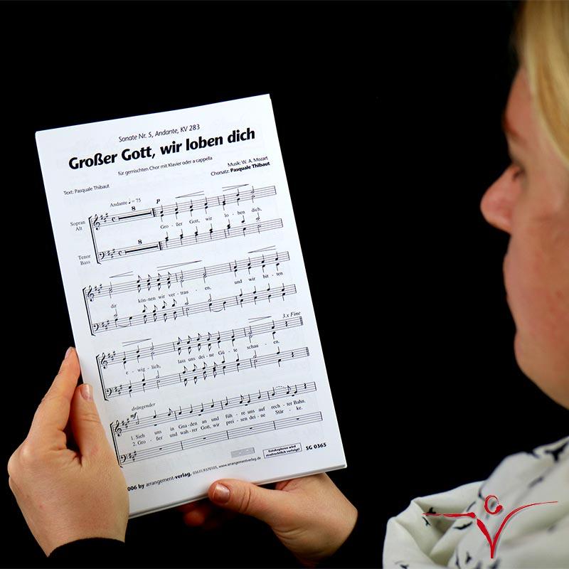 Chornoten: Großer Gott, wir loben dich