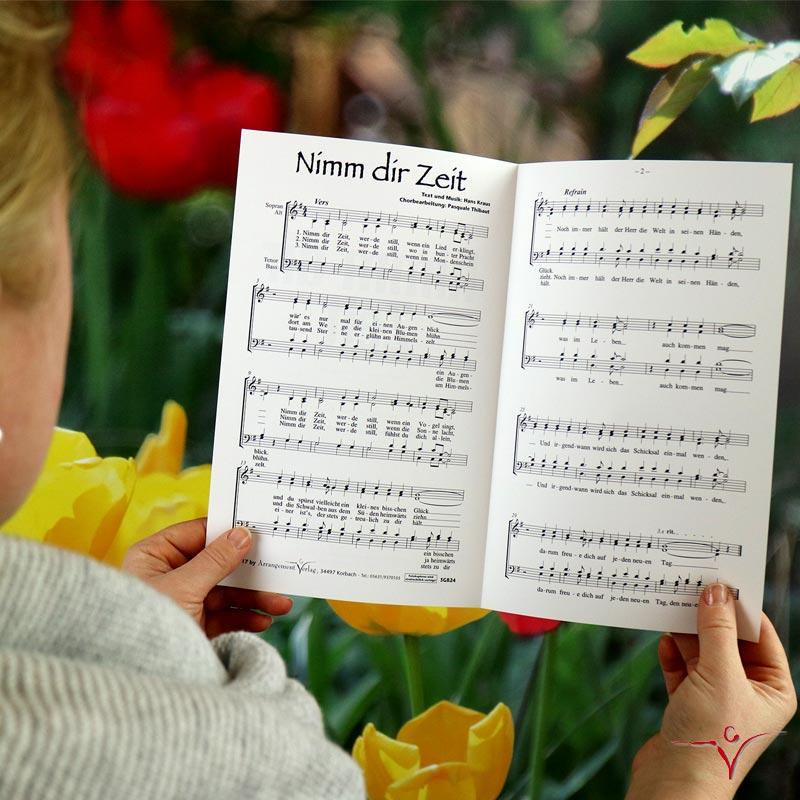 Chornoten: Nimm dir Zeit (dreistimmig)