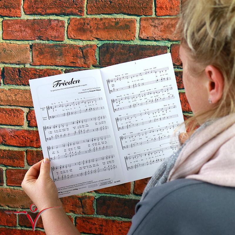 Chornoten: Frieden (vierstimmig)