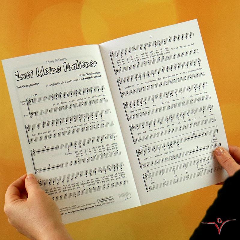 Chornoten: Zwei kleine Italiener (dreistimmig)