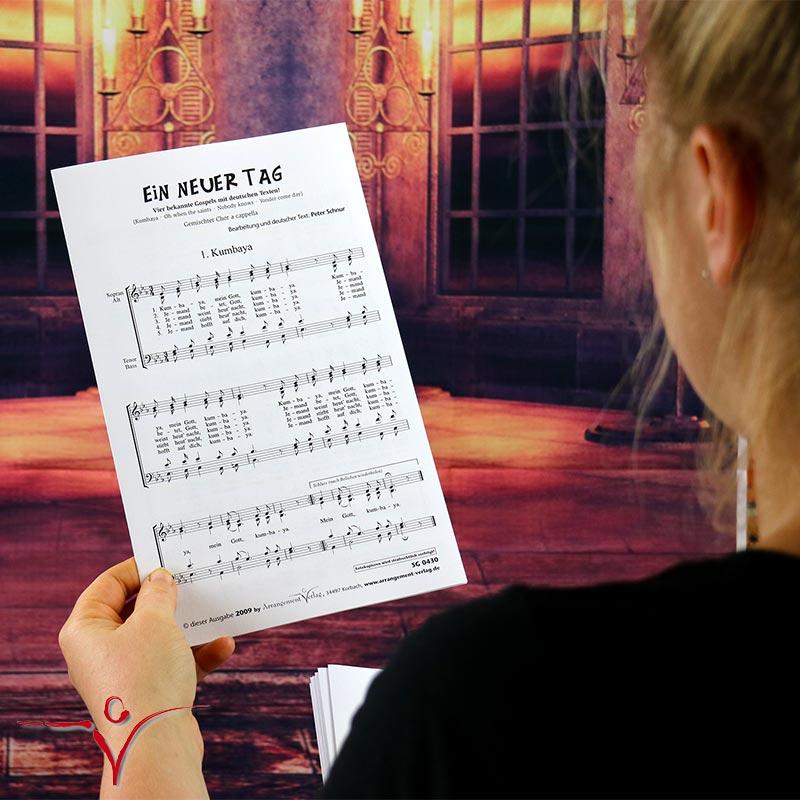 Chornoten: Ein neuer Tag (vierstimmig)
