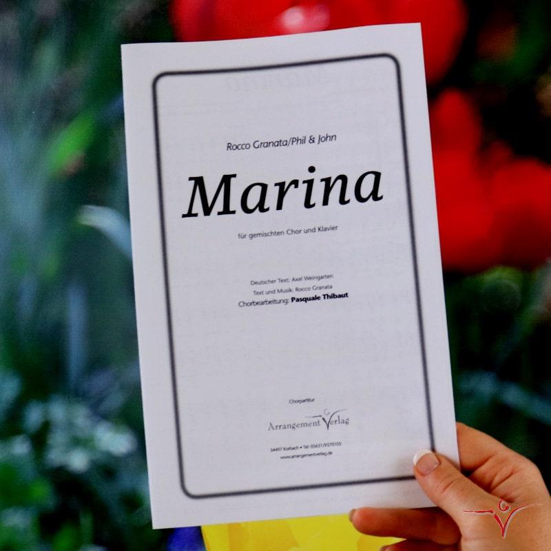 Chornoten: Marina (vierstimmig)