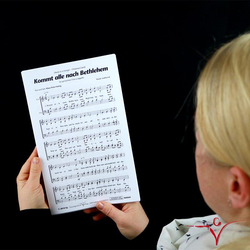 Chornoten: Kommt alle nach Bethlehem