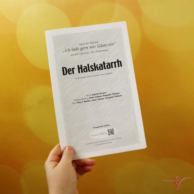 Chornoten: Der Halskatarrh (vierstimmig)