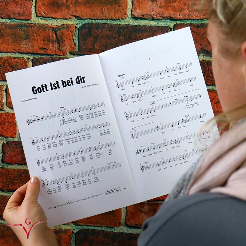 Chornoten: Gott ist bei dir (dreistimmig)