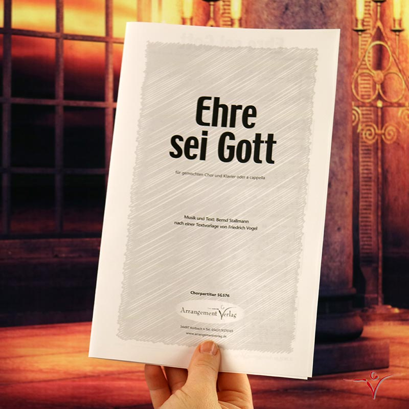 Chornoten: Ehre sei Gott (vierstimmig)
