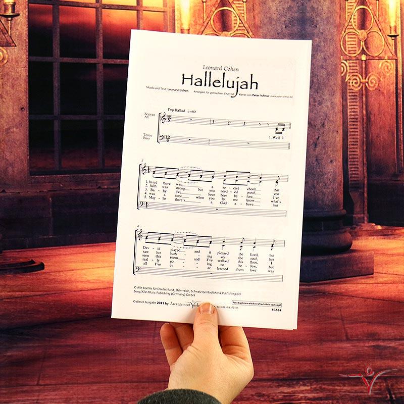 Chornoten: Hallelujah! (Cohen)