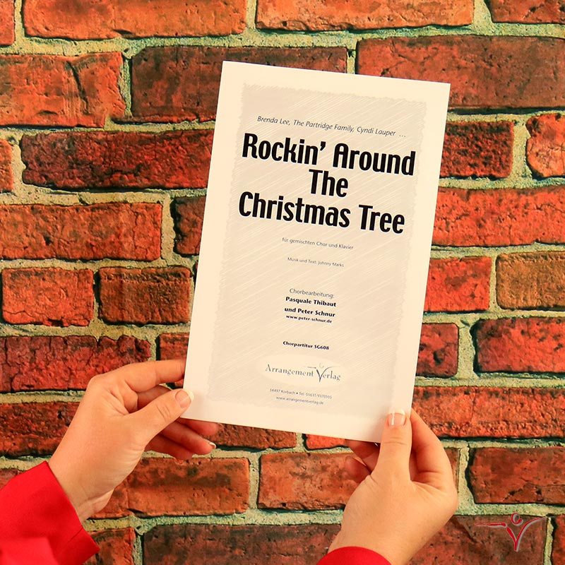 Chornoten: Rockin around the christmas tree (vierstimmig)