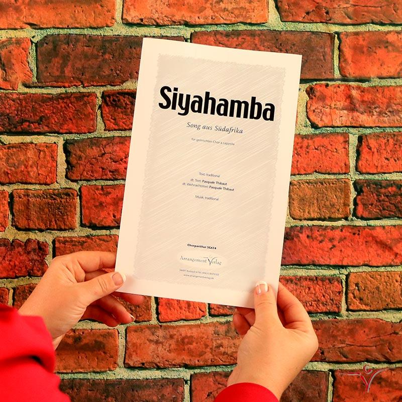 Chornoten: Siyahamba (vierstimmig)
