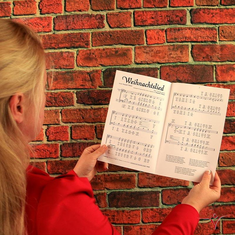 Chornoten: Weihnachtslied (vierstimmig)
