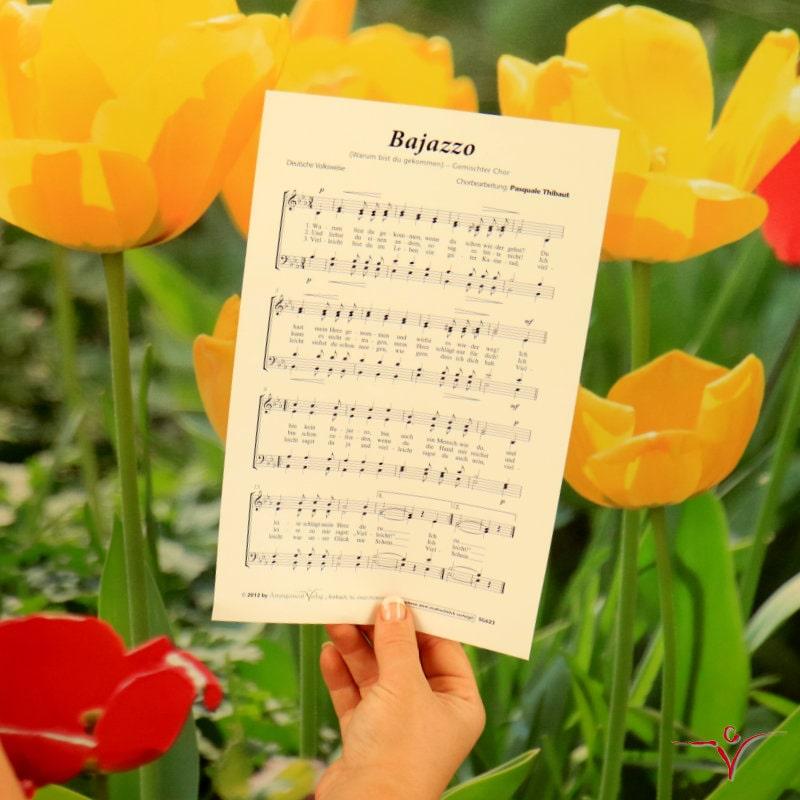Chornoten: Bajazzo (vierstimmig)