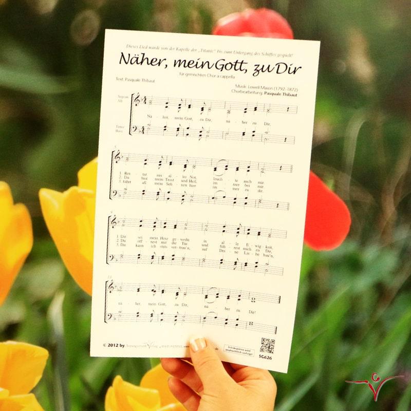 Chornoten: Näher, mein Gott, zu Dir (vierstimmig)