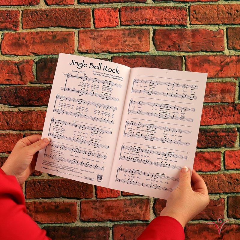 Chornoten: Jingle Bell Rock (vierstimmig)